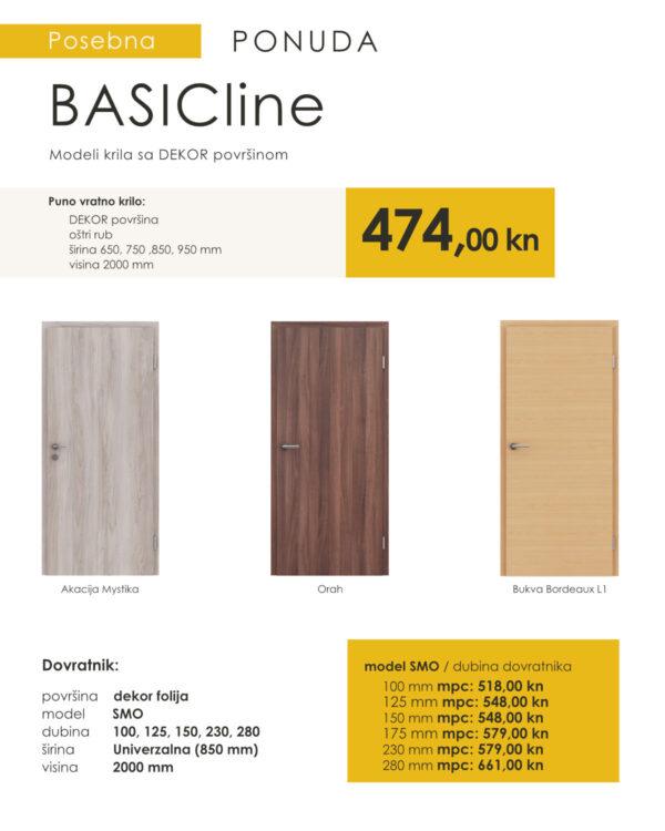 sobna vrata akcija basicline