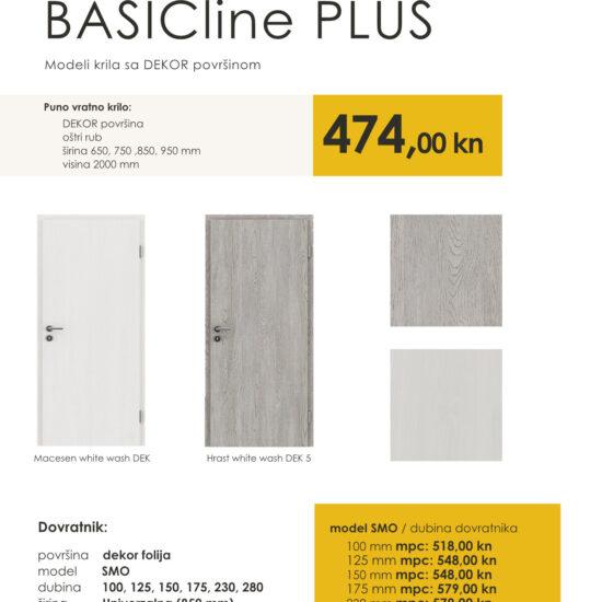 sobna vrata akacija BASICline PLUS