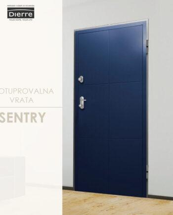 protuprovalna vrata sentry